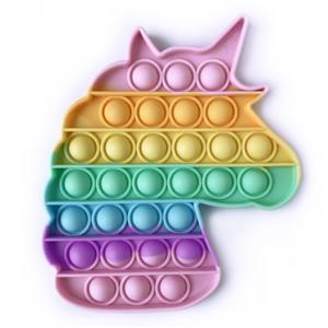top trenz unicorn multi color omg pop fidgety toy